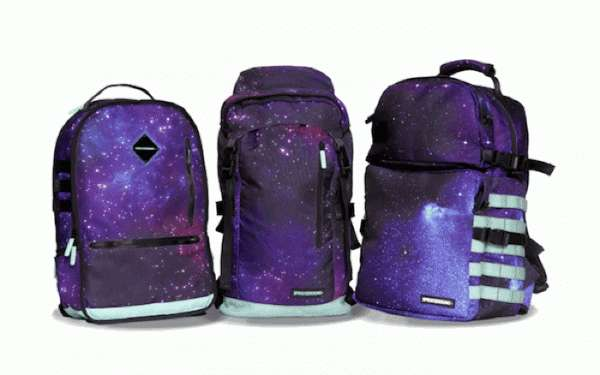 Illuminated Intergalactic Book Bags