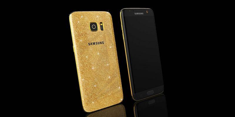 Glimmering Gilded Smartphones