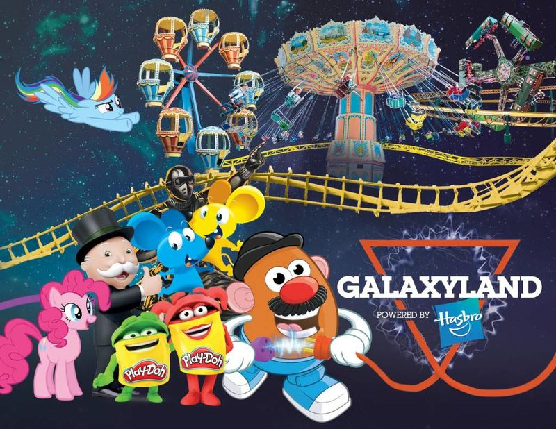 Toy-Themed Amusement Parks