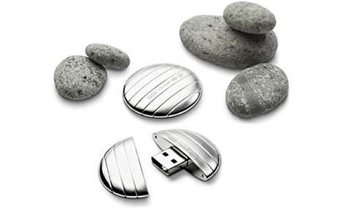 Pebble-Shaped Flash Drives