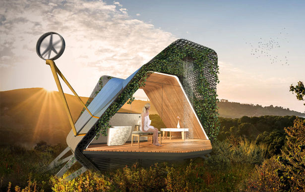 Biophilic Outdoor Living Pods