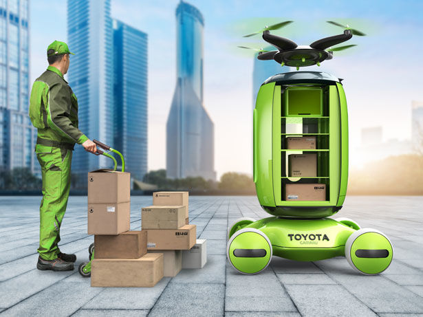 Dynamic Package Delivery Systems