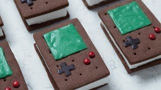 Geeky Ice Cream Sandwiches