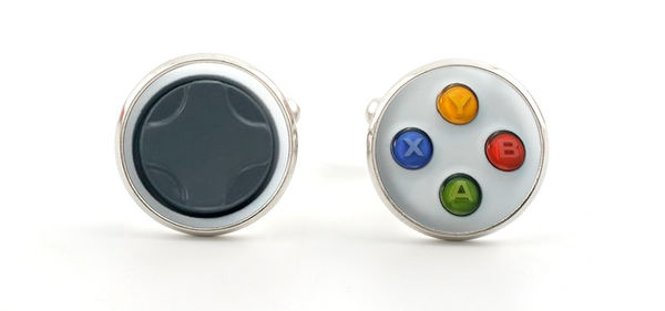 Geeky Game Controller Cufflinks