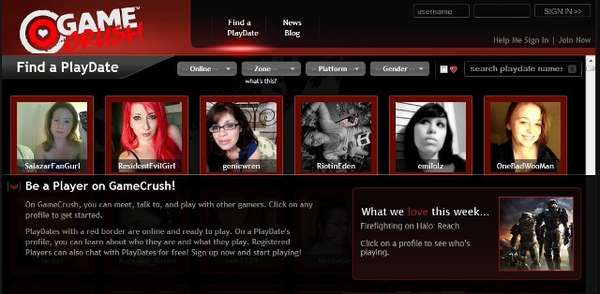 Gamer Matchmaking Sites