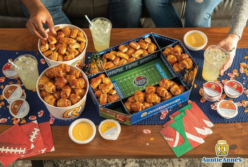 Stadium-Shaped Pretzel Snacks