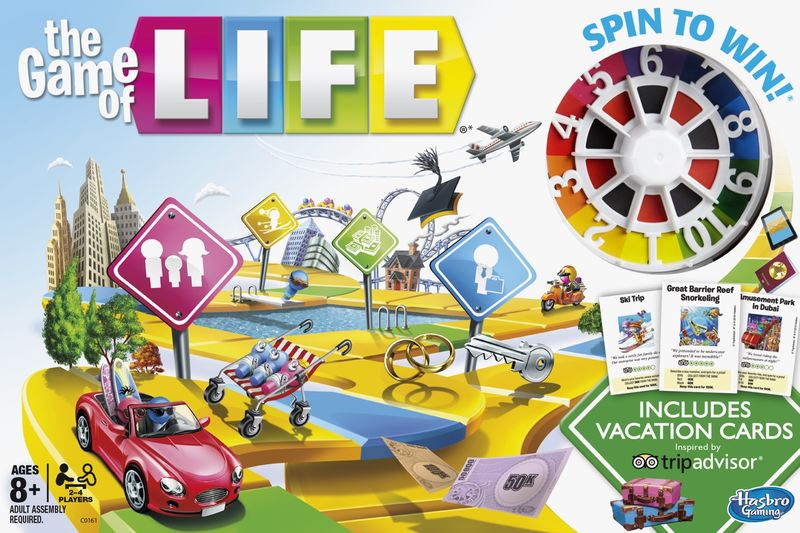 Behind the scenes of inside out the game of life | usaopoly.