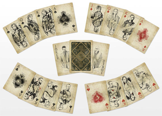 Fantasy Television Playing Cards