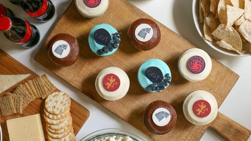 Fantasy Cupcake Boxes