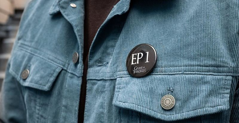Wearable Anti-Spoiler Buttons