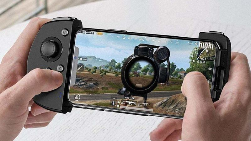 Left-Handed Mobile Gaming Controllers