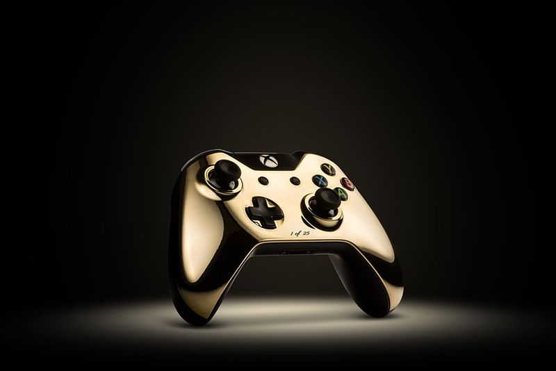 Gilded Gaming Controllers