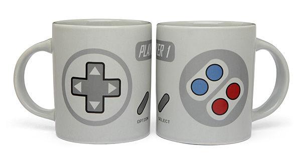 Nostalgic Dual Controller Mugs