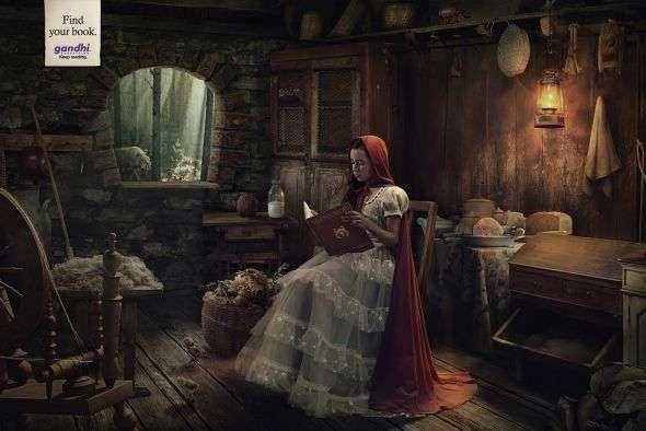 Classic Fairytale Book Ads