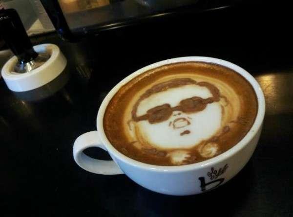 Viral Cappuccino Art