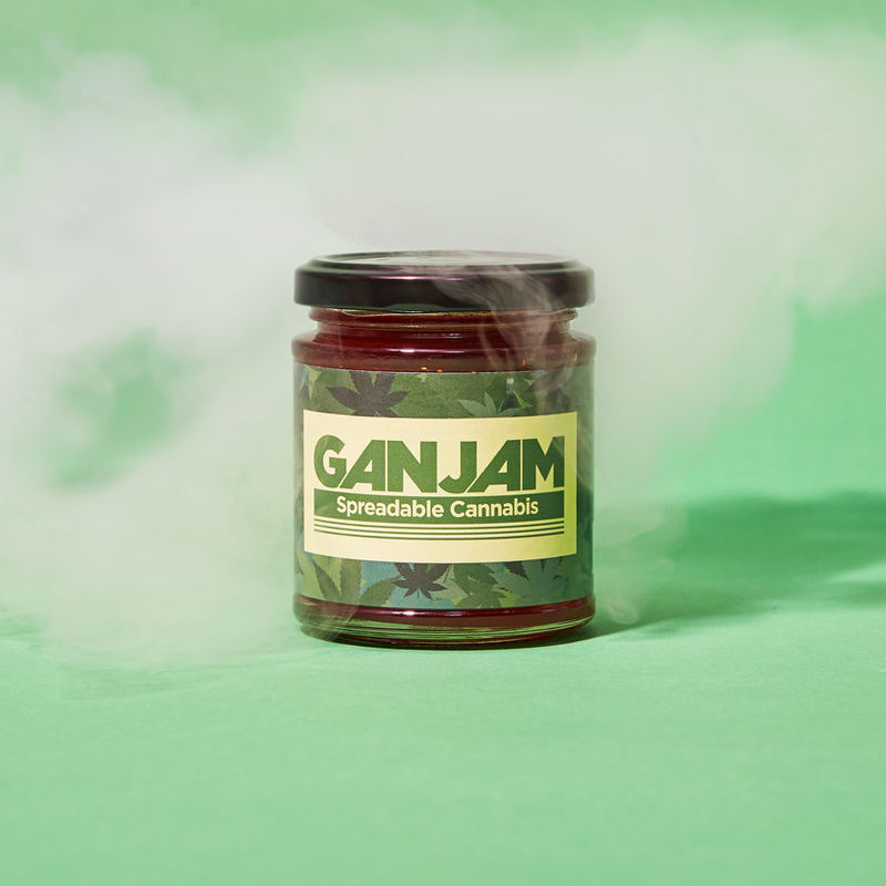 Hemp-Infused Berry Jams