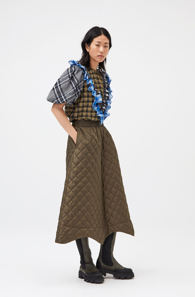 Upcycled Patchwork Fashion