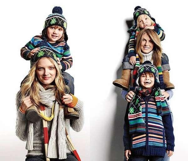 Family Themed Seasonal Ads