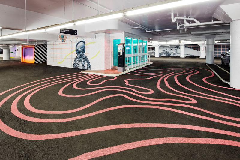 Sizable Garage Art Installations