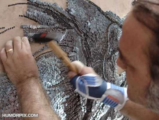 Art Made of Nails