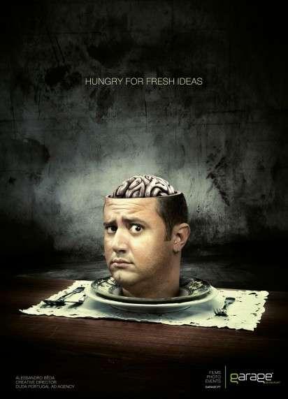 Hungry Brain Ads