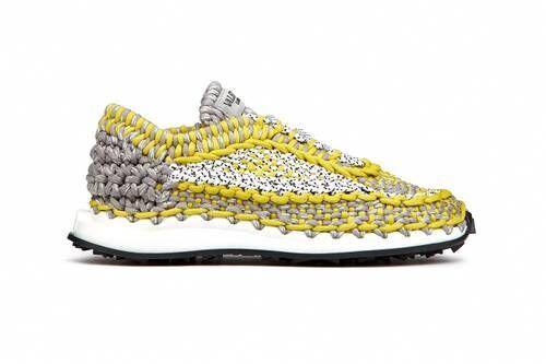 Luxe Bright Crochet Sneakers