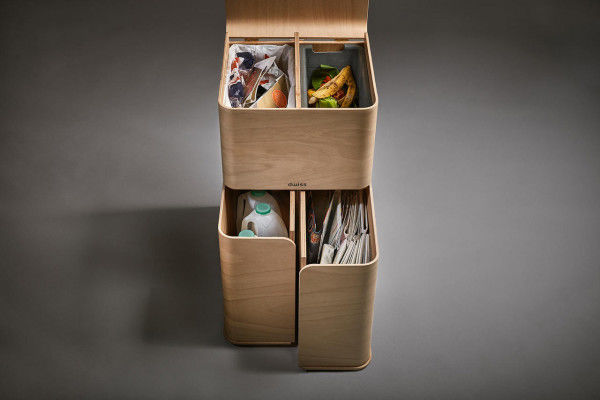 Multi-Functional Garbage Boxes