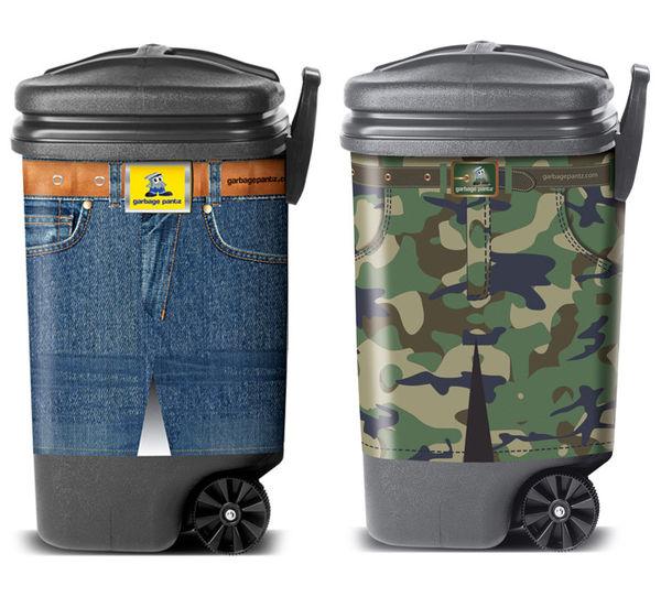 Stylish Trash Bin Sleeves