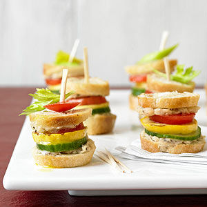 Flavorful Veggie Sliders