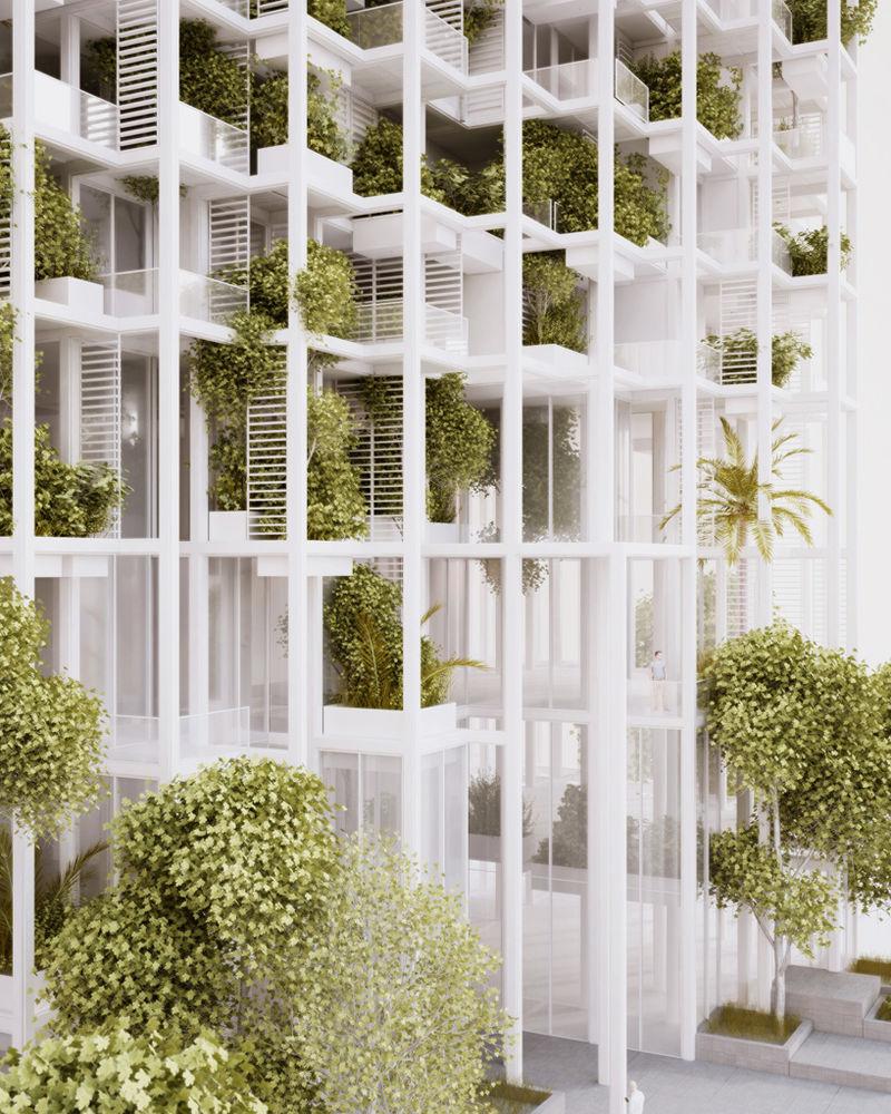 Cubical Garden Structures