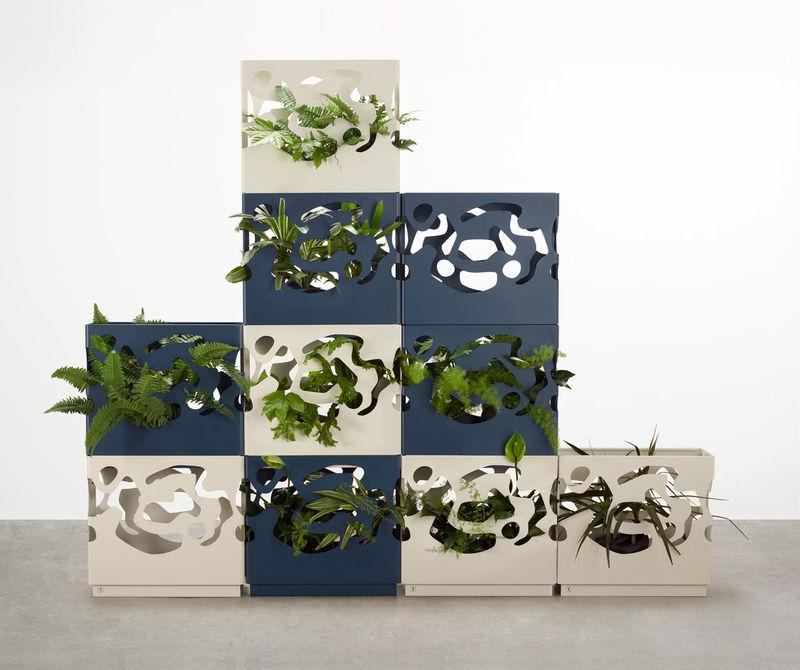 Contemporary Plant Walls