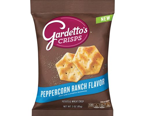 Bite-Size Poppable Crisps