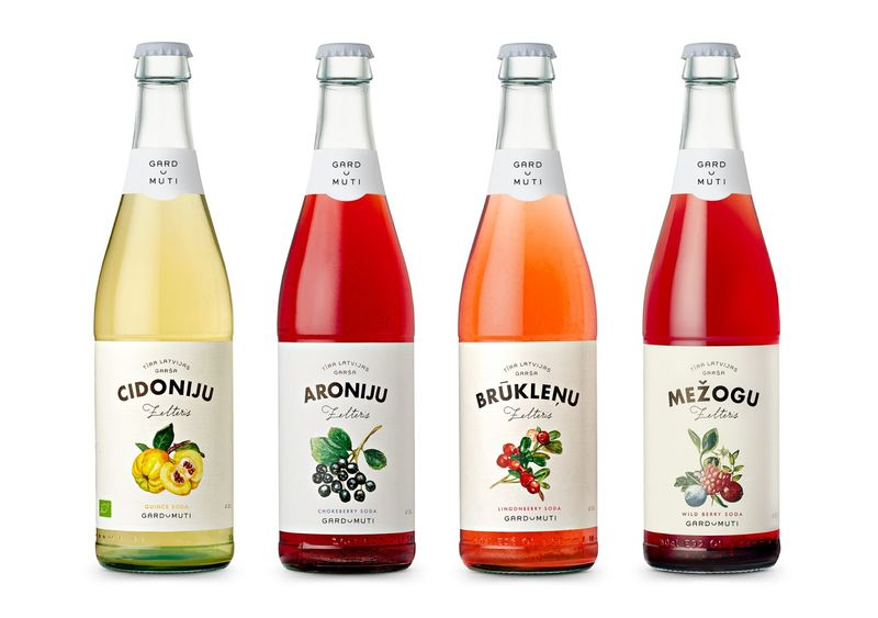 Baltic Fruit-Flavored Sodas