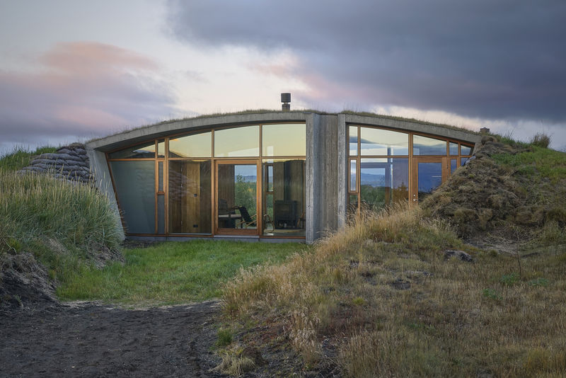 Buried Icelandic Landhouses