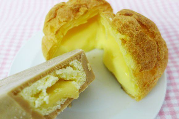 Cream Puff Popsicles