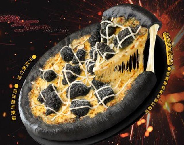 Garlicky Blackened Pizzas