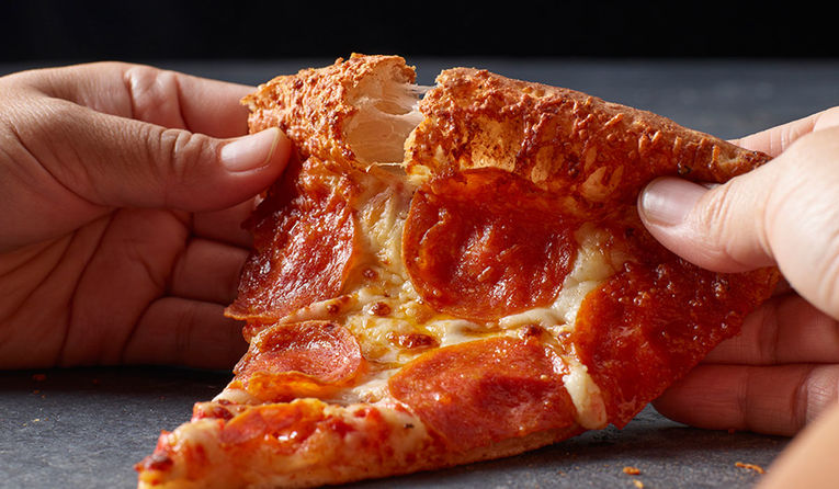 Parmesan-Infused Pizza Crusts