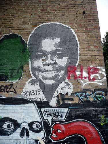 Child Star Street Art