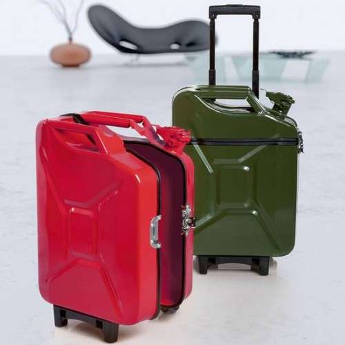 Gas Can Luggage
