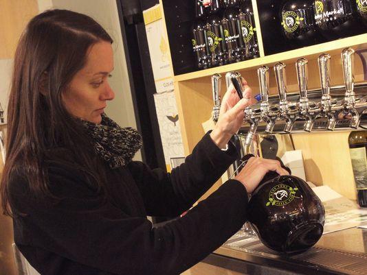 Beer-Serving Grocery Markets