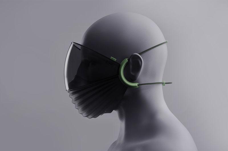 Sliding Facial Protection Masks