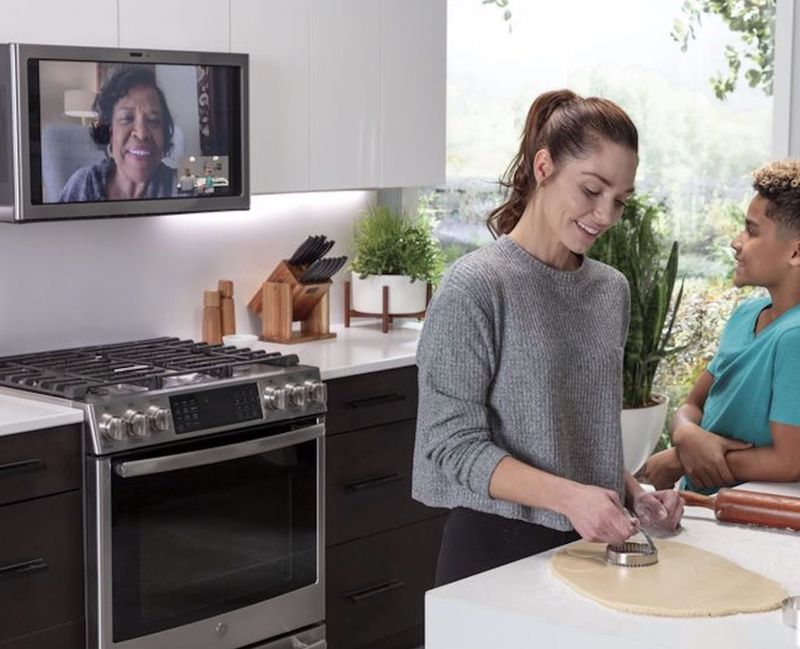 Teleconference Kitchen Connectivity Hubs