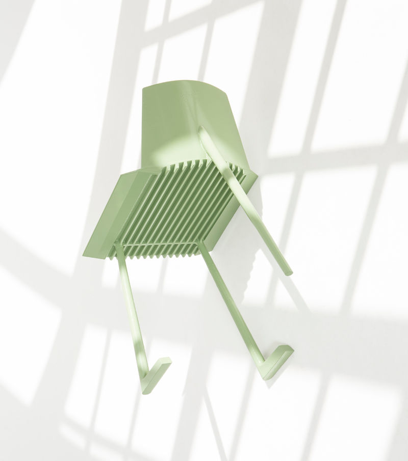 Computer-Simulated Chair Designs
