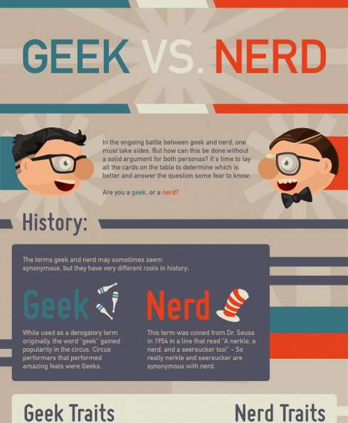 Nerds and geeks in our society