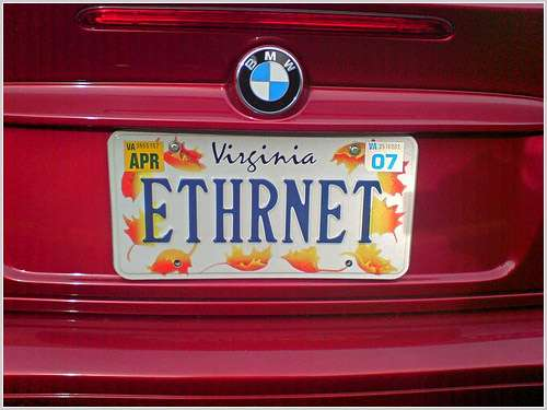 Geeky License Plates