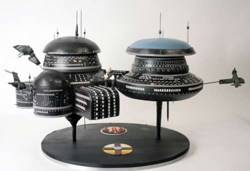 Scrumptious Space Station Cakes