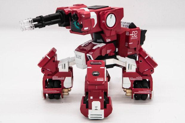 Visual Recognition Battle Robots
