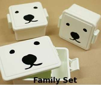Polar Bear Bento Boxes