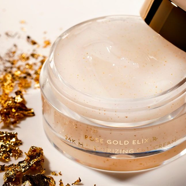 Gold-Flecked Gel Moisturizers