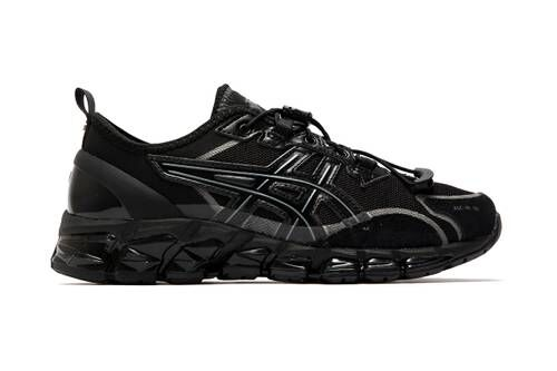 Sleek All-Black Stealthy Shoes